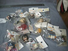 Japan Anime Various Random Cute Keychains Lot Attack on Titan and Other Series
