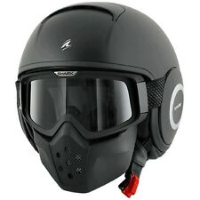 SHARK HELMET RAW BLACK MAT   +++ SIZE L +++
