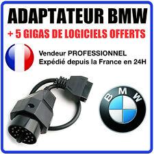 Fiche adaptateur diagnostic pour BMW OBD 2 sur OBD 1 20Pin cable II Ediabas INPA