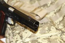 NEW!!! 1911 BLACK STAINLESS STEEL PUNISHER compensator .45acp FREE SHIP USA