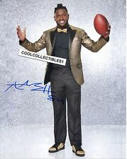 "ANTONIO BROWN ""PITTSBURGH STEELERS"" IN PERSON SIGNED 8X10 COLOR PHOTO 2 ""PROOF"""