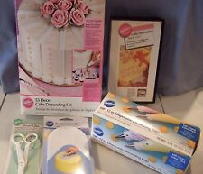 Huge Lot of 5 Items of Wilton Cake Decorating Supplies (Lot B) NEW