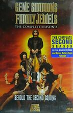 GENE SIMMONS FAMILY JEWELS The COMPLETE SECOND SEASON 23 Episodes 3-Disc SEALED