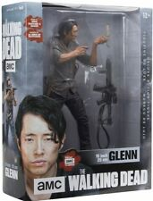 "The Walking Dead Glenn 10"" Deluxe Action Figure by McFarlane Toys ON HAND"