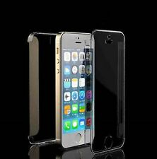 RDAC Transparent Clear Full Body Hard Ultra Thin Case Cover For Apple iPhone5 5S