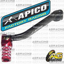 Apico Black Red Gear Pedal Lever Shifter For Honda CR 85 2000-2008 Motocross