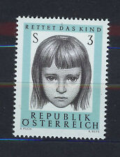 AUSTRIA 1966 MNH SC.777 Save the Child Society