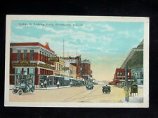 1920's Stores College St. looking South Waxahachie TX post card