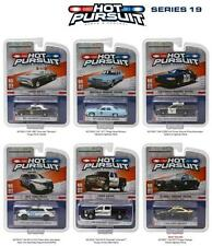 GREENLIGHT HOT PURSUIT SERIES 19 SET OF 6 DIECAST POLICE CARS 1:64 42760 NEW!