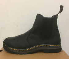 DR. MARTENS 2976 BLACK INUCK    LEATHER  BOOTS SIZE UK 9