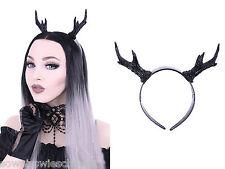 Restyle Gothic Headpiece Hörner Reh Geweih Kopfschmuck Haarreifen Fantasy Antler