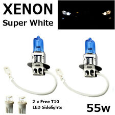 H3 55w SUPER WHITE XENON (453) Head Light Bulbs 12v - APRILIA RS 125