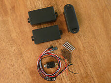 ACTIVE HUMBUCKER PICKUP SET 81/85 BLACK