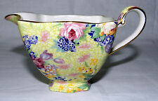 ROYAL WINTON GRIMWADES WELBECK PATTERN CHINTZ CREAMER MILK PITCHER MADE ENGLAND