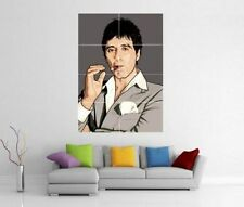 SCARFACE POP ART TONY MONTANA AL PACINO GIANT WALL PRINT POSTER H175