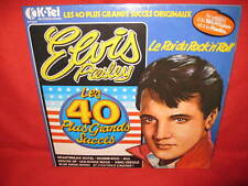 Elvis Presley 2 x LP's 40 Greatest Hits / 40 Plus Grands Succes (French)