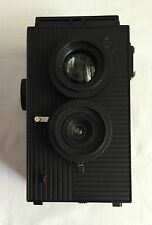 Superheadz Blackbird Fly BBF Twin Lens Reflex TLR Film Camera Black Hardly Used