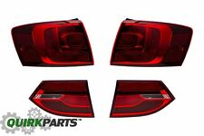 2011-2014 VW Volkswagen Jetta MK6 Rear Darkened Tail Lamp Light Set OEM GENUINE
