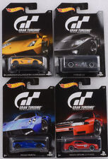 2016 GT Gran Turismo Set 4 pcs GT-R GT LM Pagani LP 570-4 1:64 Hot wheels