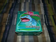 Game Boy Advance GBA SP Green Pokemon Center Venusaur Fushigibana Complete RARE!
