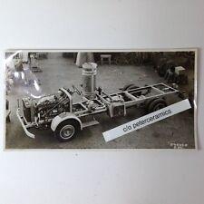 ✇ Originalfoto 1936 KRUPP LKW mit HOLZGAS - ANLAGE Werkstattaufnahme very rare