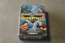 DC Overpower Card Game Starter Deck NEW Sealed! Batman and Superman