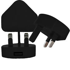 100% CE Usb Reino Unido pared AC enchufe adaptador de cargador para iPhone 4,5,6 Ipod Samsung Htc