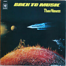 "THEO VANESS ""BACK TO MUSIC""  33T  LP"