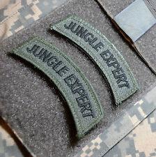 KANDAHAR-WHACKER© PRO-TEAM ARMY SOUTH 25TH ID JOTC OD TAB: JUNGLE EXPERT X 2