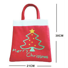 New Year Merry Christmas Candy Bag Kids Christmas Tree Decoration for Party Gift