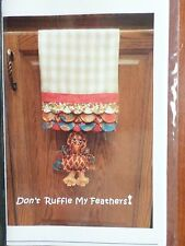 DONT RUFFLE MY FEATHERS SEWING PATTERN, From Quick Points Ruler NEW