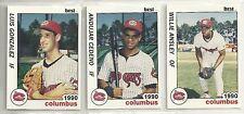 1990 Best Columbus Mudcats 26-card Minor League Baseball Team Set  Willie Ansley
