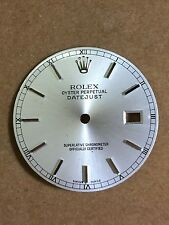 FACTORY Rolex Datejust Silver color Dial Quickset 3035 3135 16013 16233