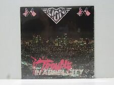 LION TROUBLE IN ANGEL CITY LP RARE 1989 STILL SEALED DOUG ALDRICH KAL SWAN