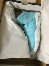 Air Jordan 6 VI Pantone Still Blue Carolina Retro 7.5