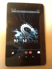Nexus 7 32GB Kali Nethunter 3.0 Wifi Hacking Security Penetration Tablet