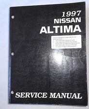 1997 NISSAN ALTIMA SERVICE REPAIR MANUAL