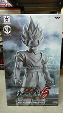 DRAGON BALL Z GOKU GOKOU SCULTURES 6 BLACK WHITE Ver. FIGURE FIGURA NUEVA NEW