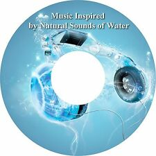 Music Inspired by Natural Sounds of Water CD Relaxation Stress Relief Sleep Aid