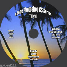 Adobe Photoshop CS6-CS5-CS4-CS3-CS2-CS VIDEO TUTORIAL