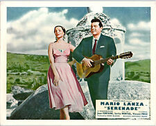 SERENADE ORIGINAL LOBBY CARD MARIO LANZA PLAYING GUITAR SARITA MONTIEL