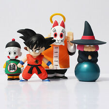 Figura de accion 4pcs/set Dragon Ball Z  Sun Goku Master Roshi PVC Action Figure