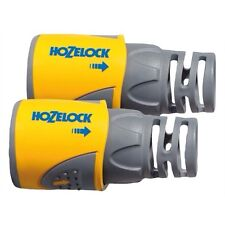 HOZELOCK 2050 HOSE END CONNECTOR TWIN PACK **NEW**