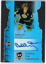 2006-07 THE CUP STANLEY CUP SIGNATURES AUTOGRAPH #CS-BO BOBBY ORR 10/25 !!