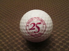 LOGO GOLF BALL-3M MEDIA NETWORKS.....25TH ANNIVERSARY