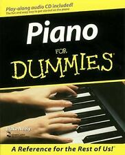 Piano for Dummies by Jon Chappell, Blake Neely and Mark Phillips (1998,...