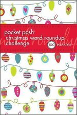 Pocket Posh Christmas Word Roundup Challenge: 100 Puzzles, , New condition, Book