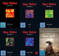 28 Filme EDGAR WALLACE BOX 1 2 3 4 5 + 8 BONUSFILME E. Allan Poe DVD Collection