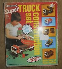 Constructo large truck construction set 4 with some extra parts vintage 1970`s