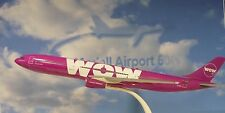 Herpa Wings 1:200 SNAP FIT Airbus A330-300  WOW Air TF-WOW 611282